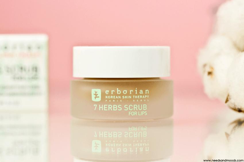 erborian 7 herbs scrub for lips