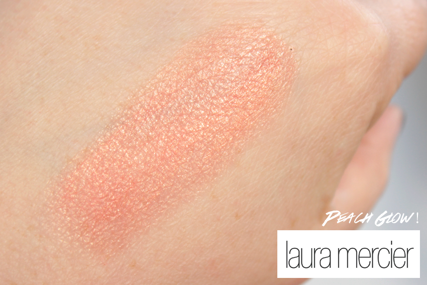 laura mercier peack glow swatch