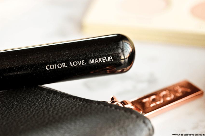 zoeva color love makeup