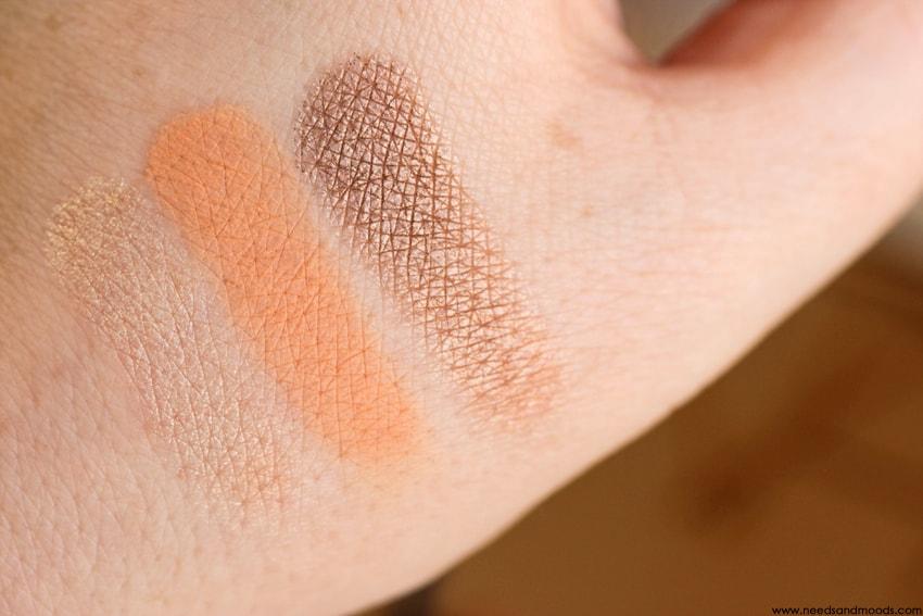 NARS Loaded Eyeshadow Palette swatch 1