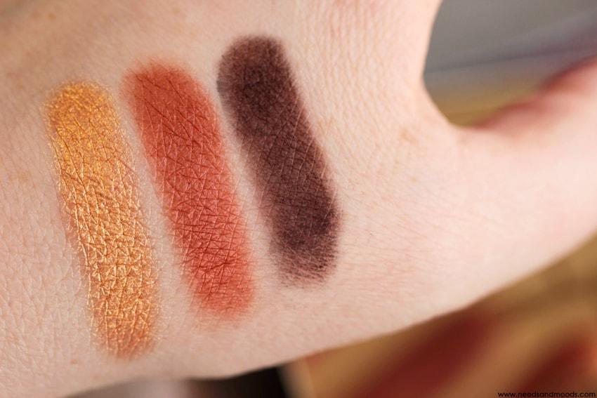 NARS Loaded Eyeshadow Palette swatch 3