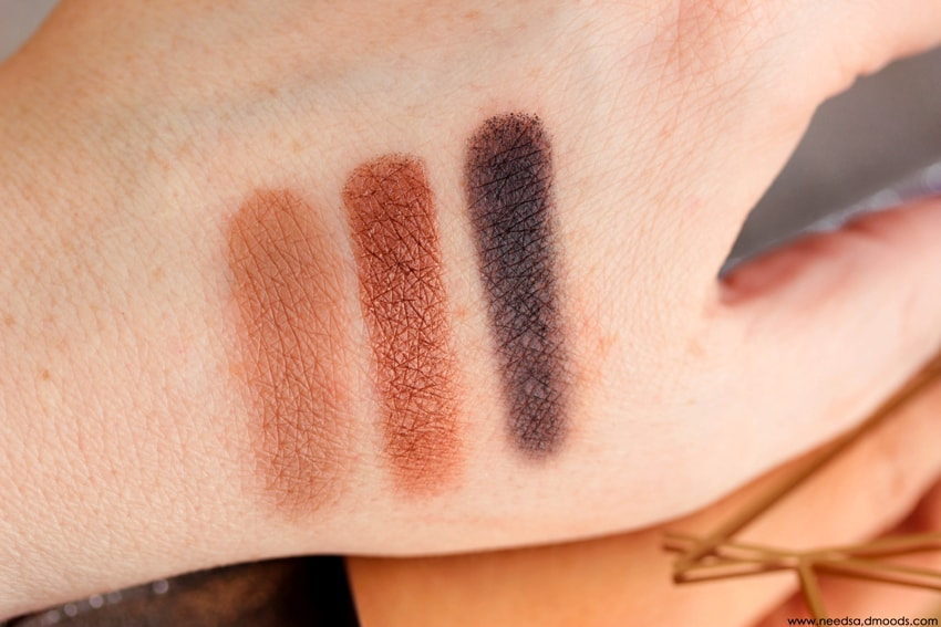 NARS Loaded Eyeshadow Palette swatch 4