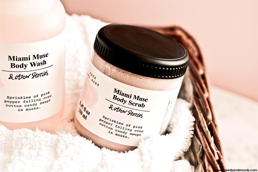 & Other Stories miami muse body scrub