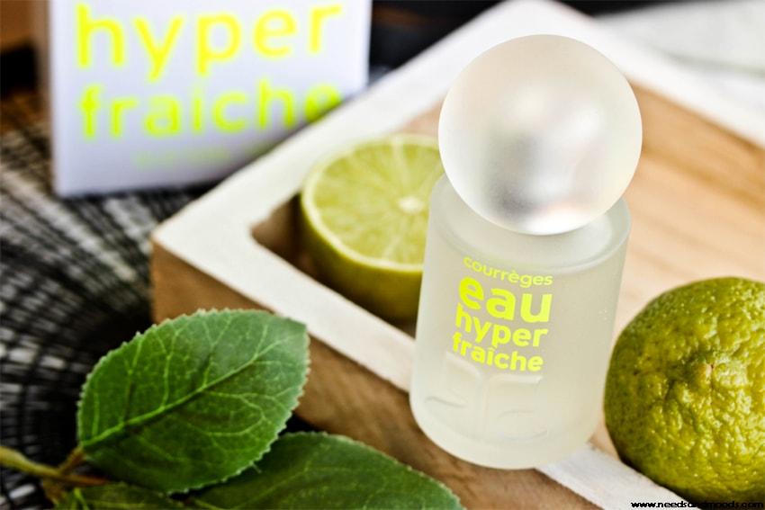 eau hyper fraiche parfum courreges