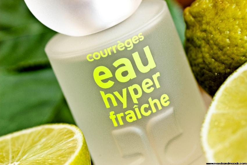 parfum courreges eau hyper fraiche