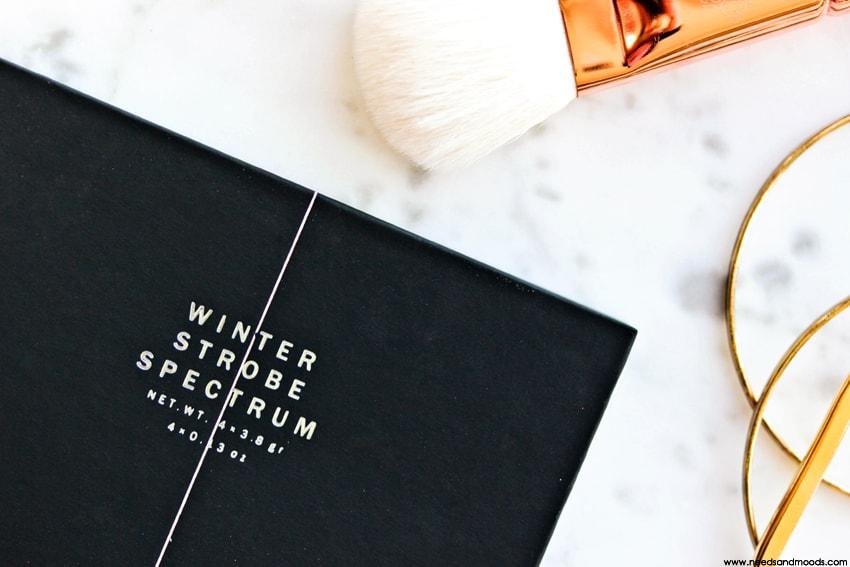 zoeva winter strobe spectrum palette