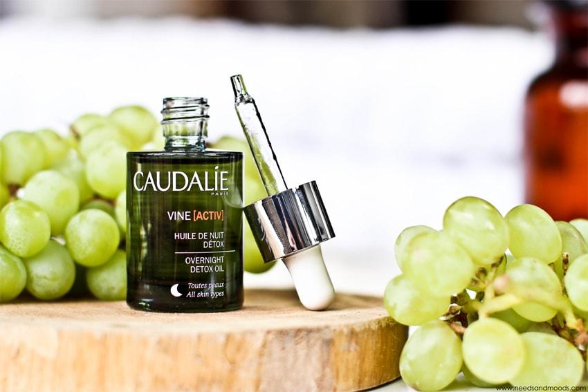 huile nuit detox caudalie