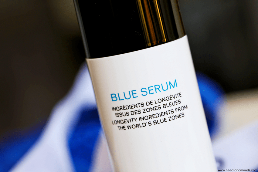 blue serum chanel composition