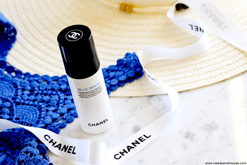 blue serum chanel revue