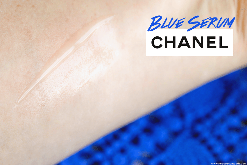 blue serum chanel texture