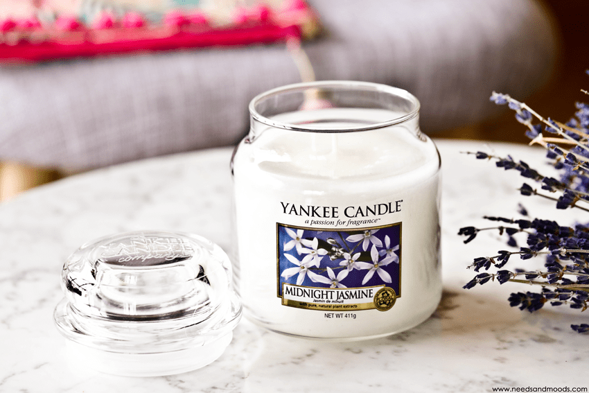 bougie parfumee yankee candle midnight jasmine