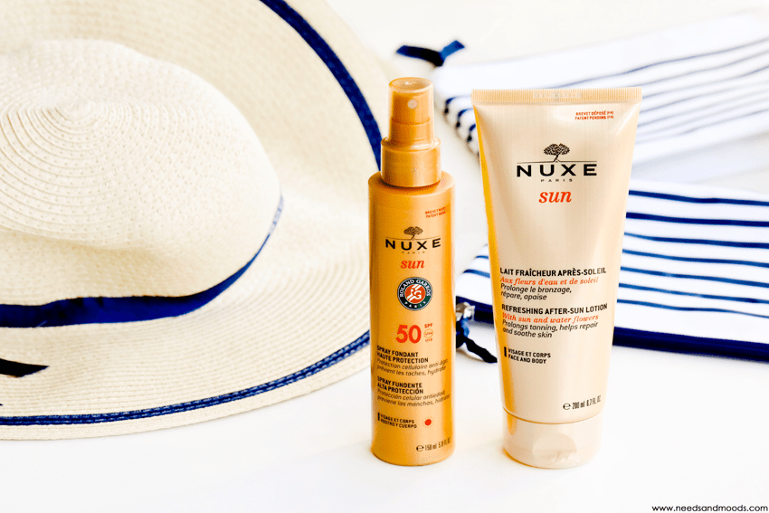 nuxe sun protection solaire
