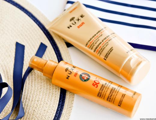 nuxe sun spray fondant haute protection SPF50