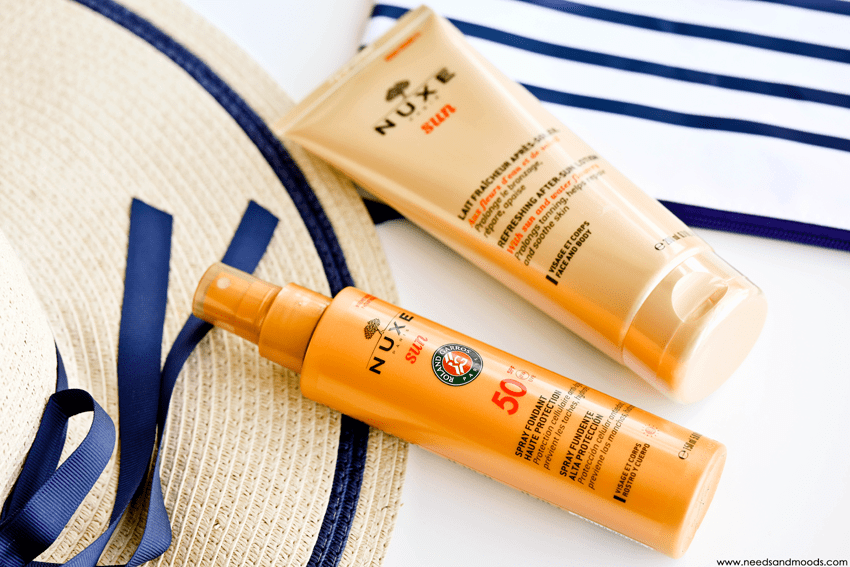 nuxe sun spray fondant haute protection SPF50