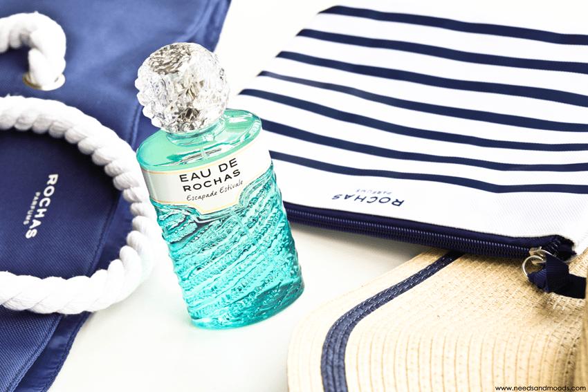 parfum eau rochas escapade estivale