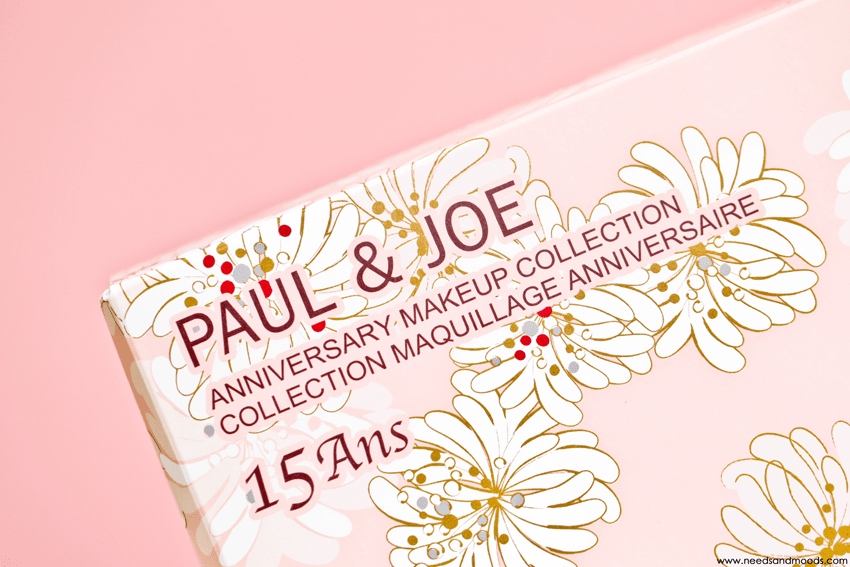 paul and joe coffret 15 ans