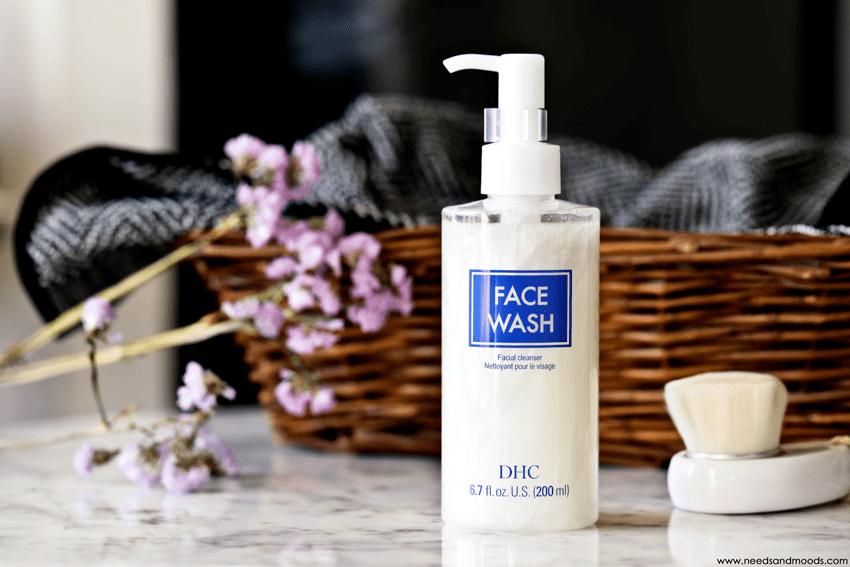 DHC Face Wash nettoyant doux purifiant