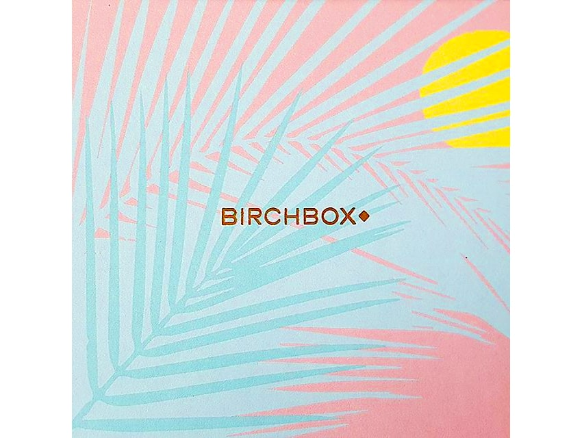 birchbox juillet 2017 box beaute