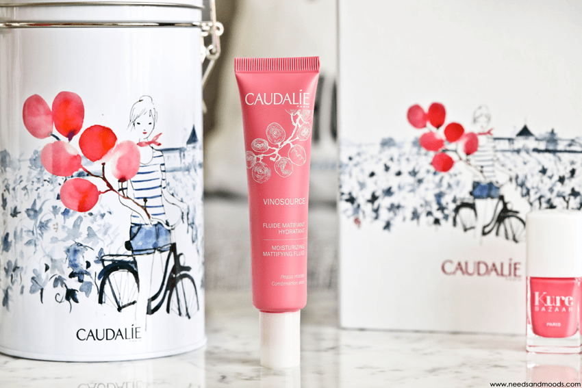 caudalie vinosource fluide matifiant hydratant