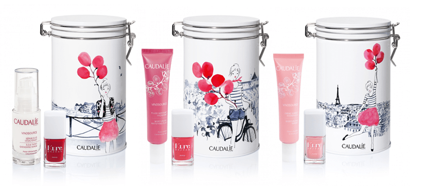 coffret caudalie vinosource