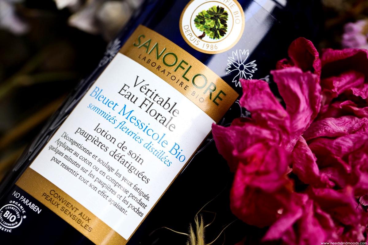 eau florale bleuet messicole bio