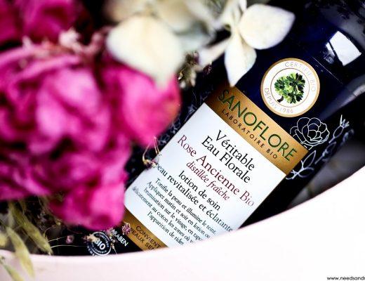 eau florale rose ancienne bio sanoflore