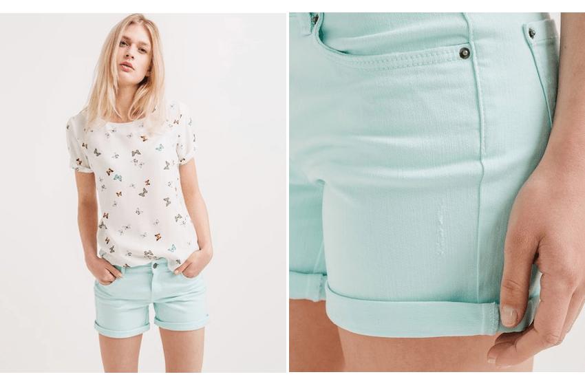 short jean mint