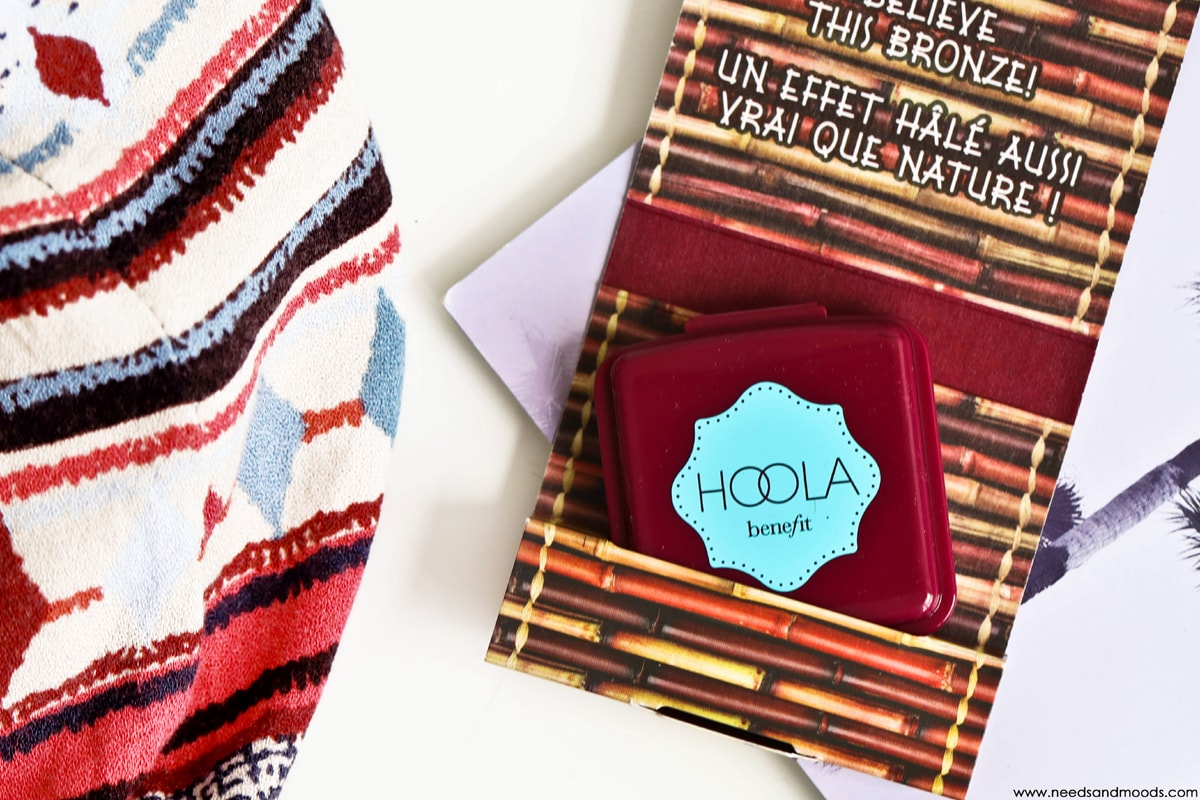 glossybox juillet aout 2017 benefit hoola