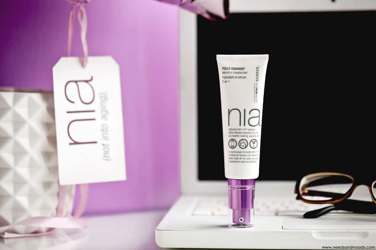 NIA skincare fully charged