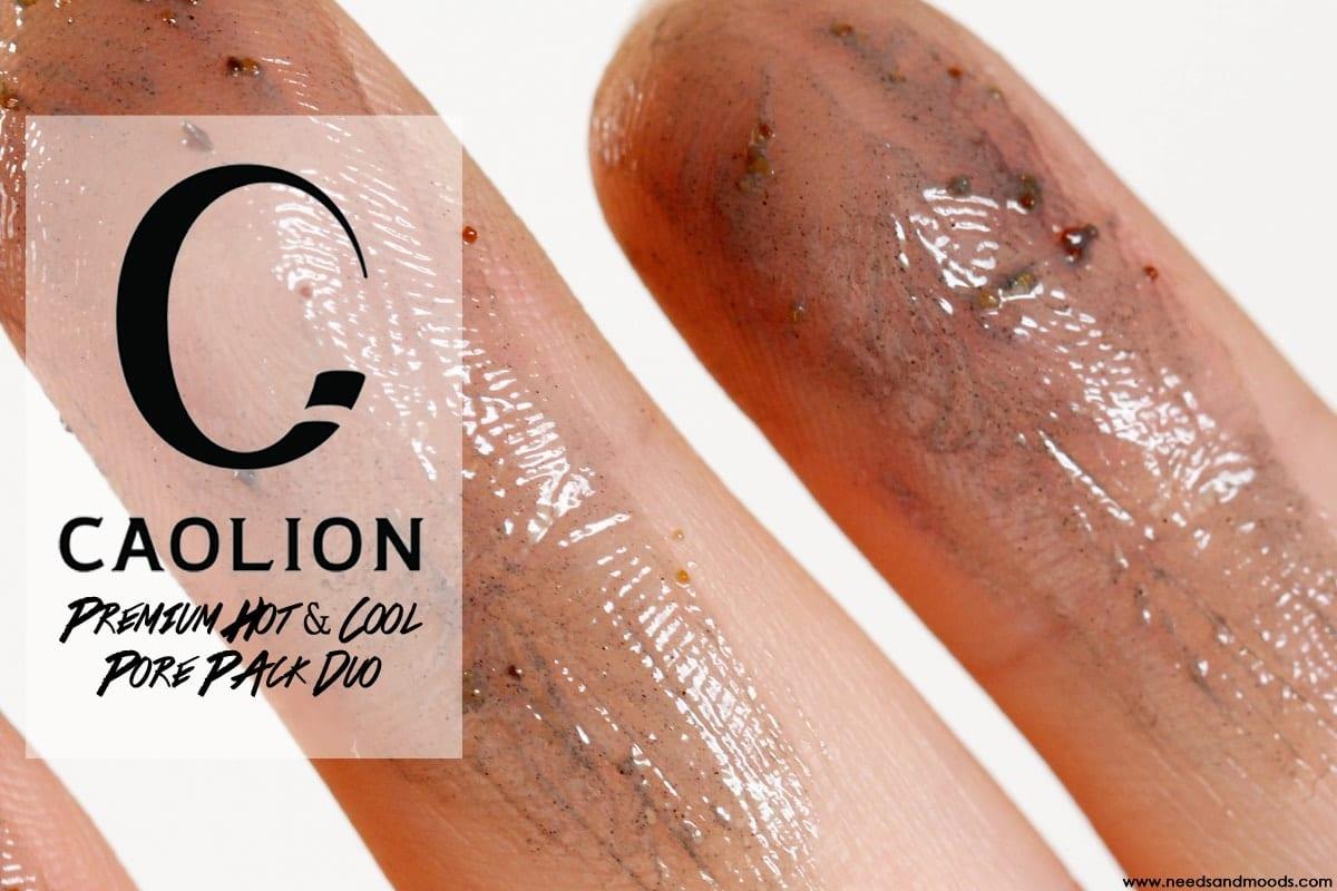 caolion premium hot cool pore pack duo avis