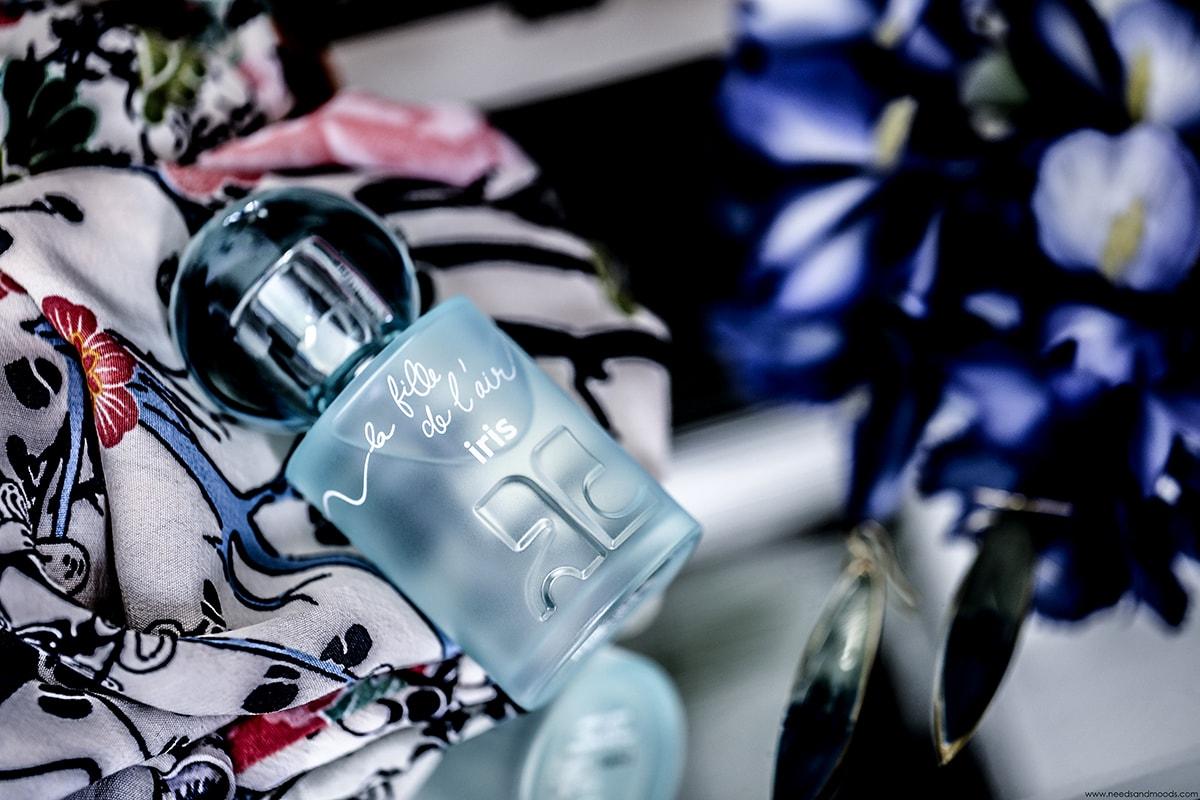 courreges parfum la fille de l air iris
