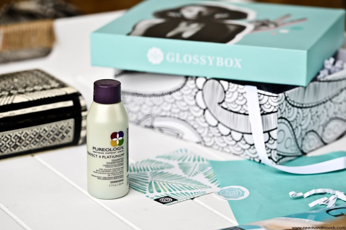glossybox septembre 2017 shampooing
