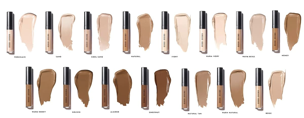 instant full cover concealer teintes