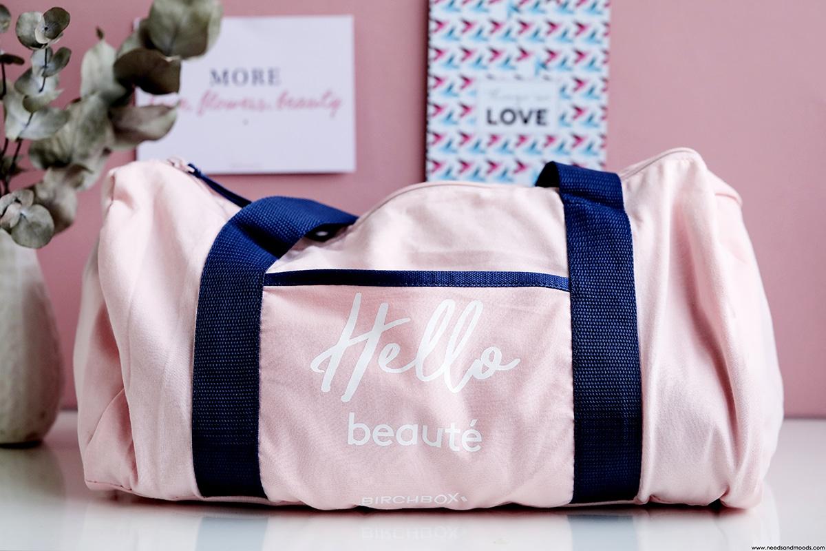birchbox sac hello beaute