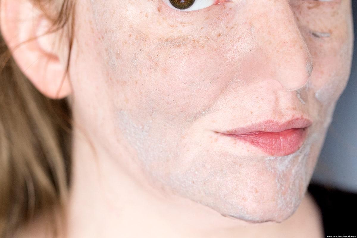 caolion masque moussant