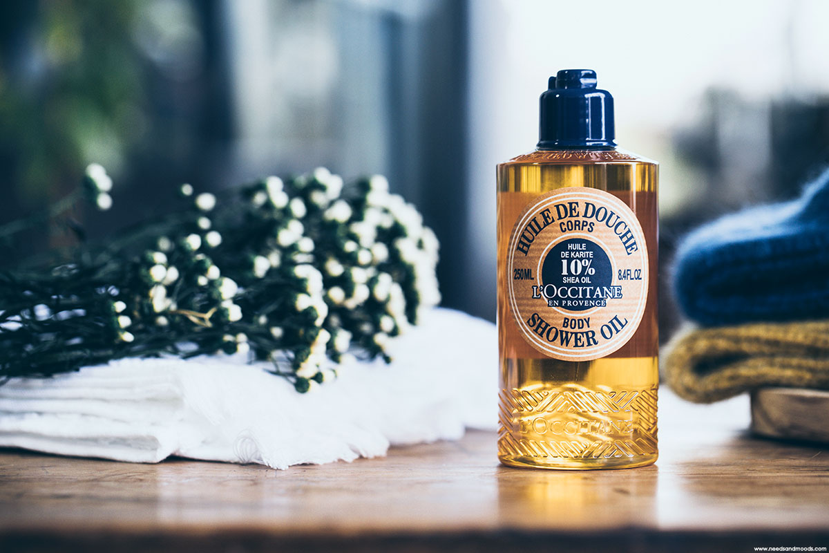 l occitane huile de douche