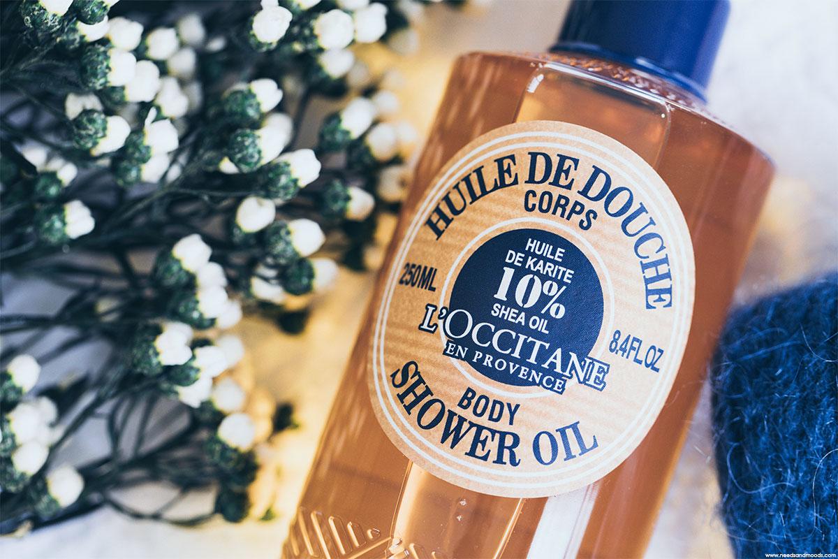 l occitane huile douche corps avis