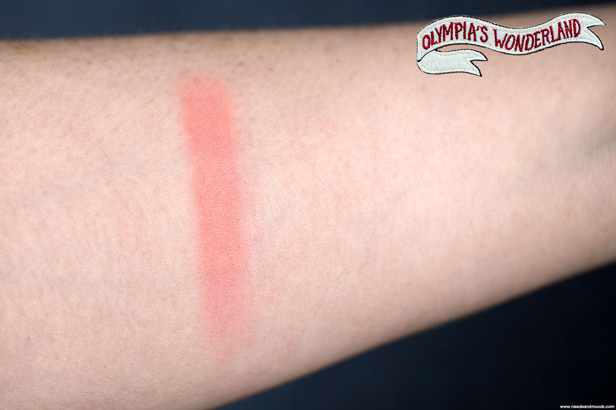 lancome olympias wonderland blush swatch
