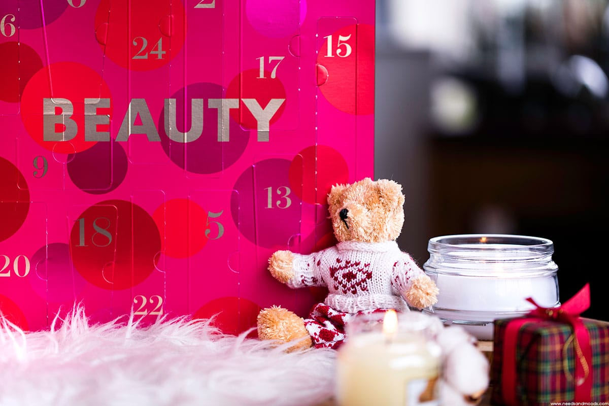 marionnaud calendrier avent beaute 2017