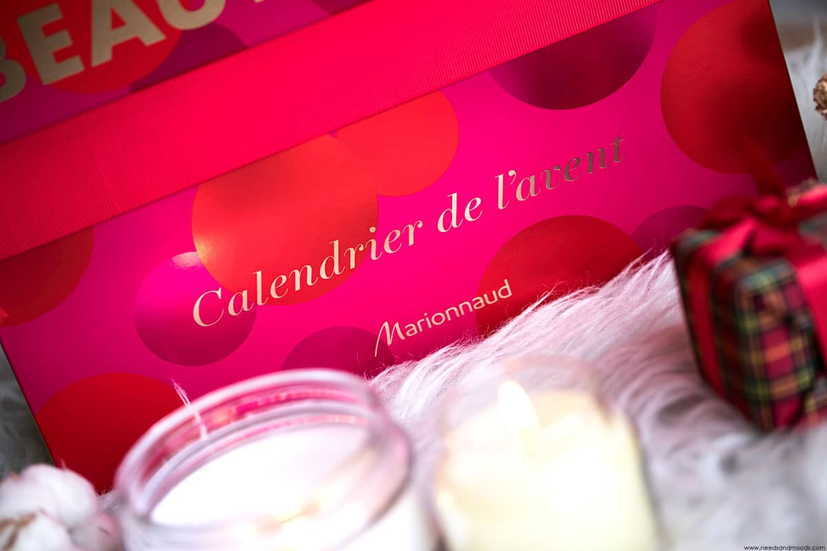 marionnaud calendrier avent