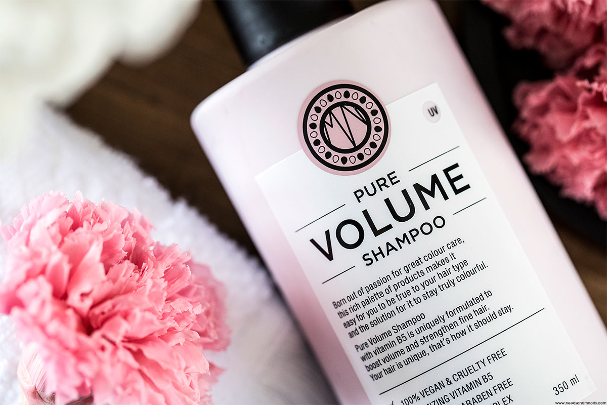 pure volume shampoo maria nila