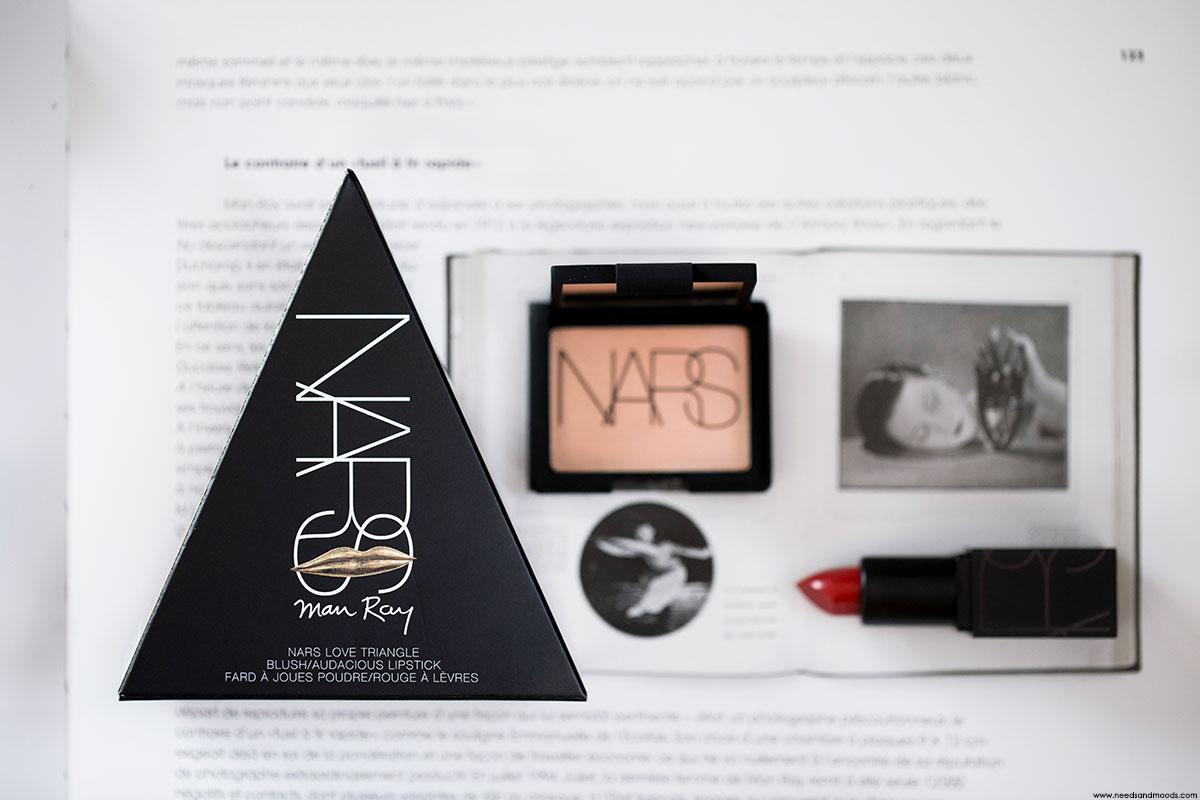 NARS audacious lipstick blush