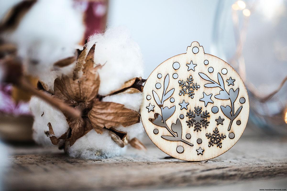 calendrier avent durance decoration bois