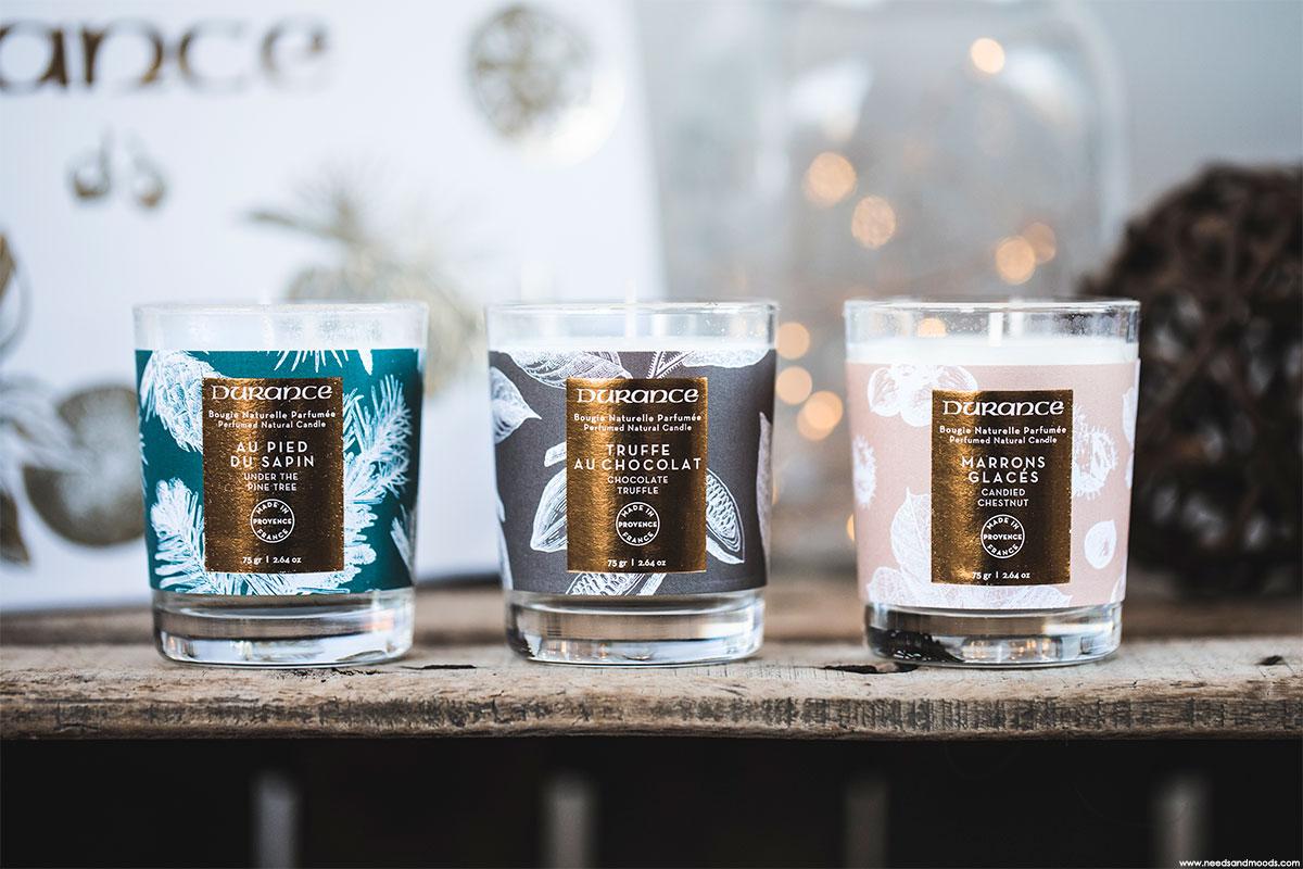 le calendrier de l 39 avent durance et les bougies parfum es no l 2017. Black Bedroom Furniture Sets. Home Design Ideas
