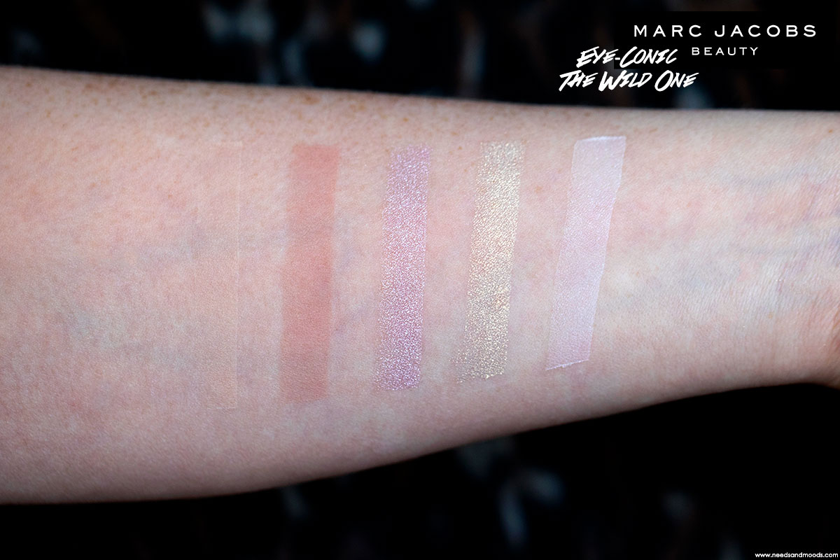 marc jacobs eye conic palette the wild one swatch 1