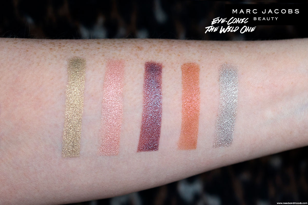 marc jacobs eye conic palette the wild one swatch 2