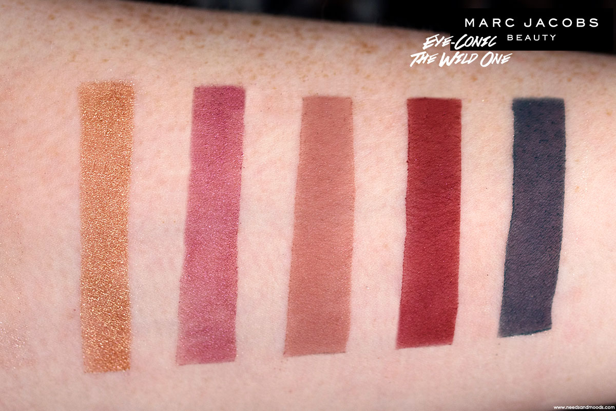 marc jacobs eye conic palette the wild one swatch 3