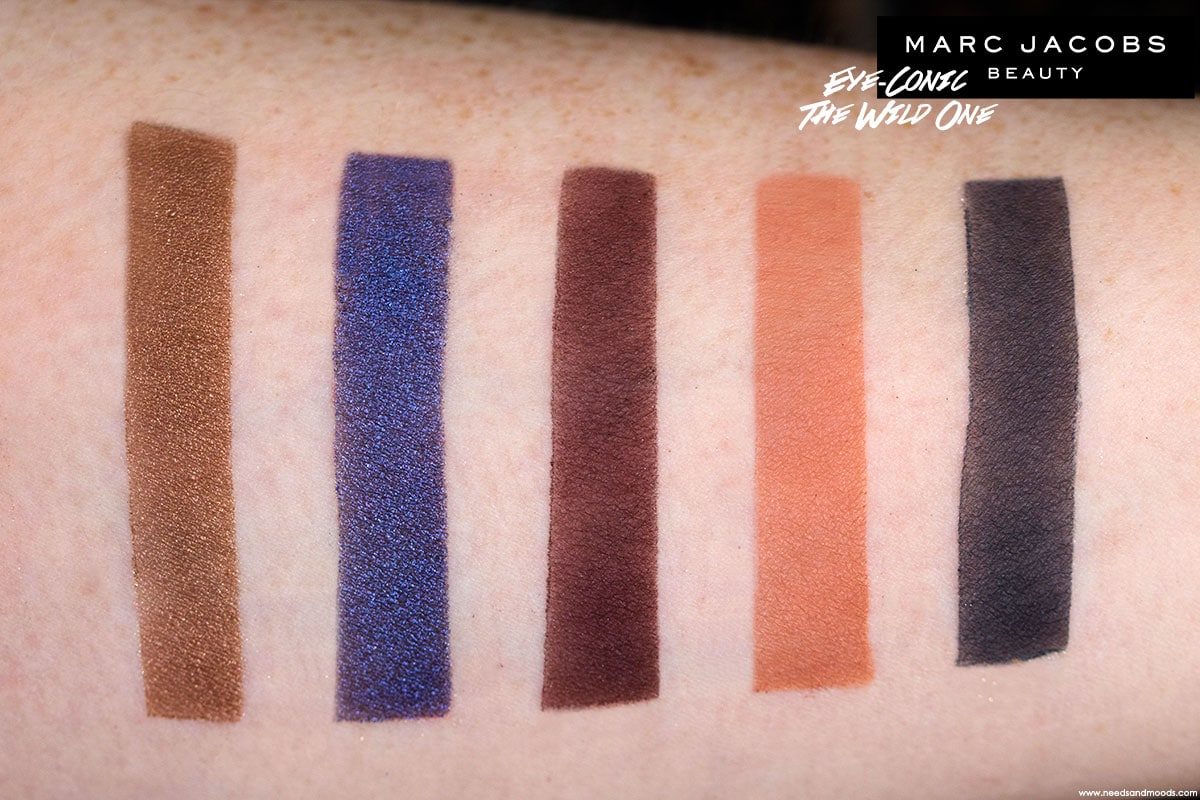 marc jacobs eye conic palette the wild one swatch 4