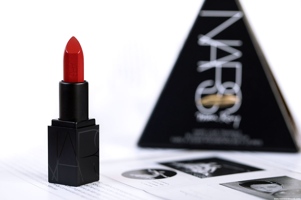 nars audacious lipstick rita