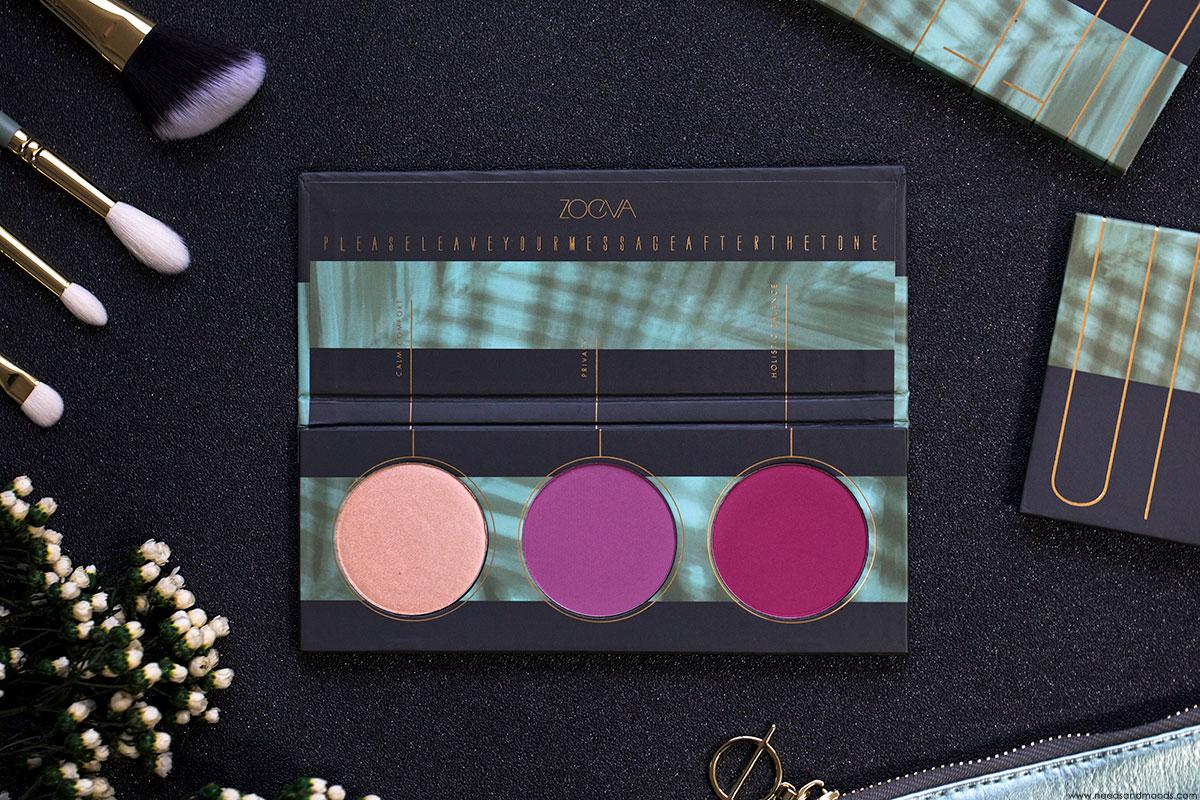 palette blush zoeva offline